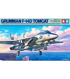 1:48 Американски палубен изтребител Груман Ф-14Д (Grumman F-14D Tomcat) - 2 фигури
