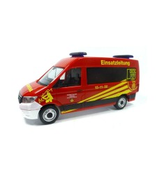 "VW CRAFTER BUS HIGH ROOF ""OFFICER IN CHARGE LIEBENBURG / GOSLAR FIRE DEPARTMENT"""