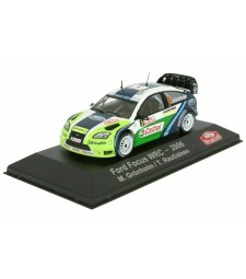 Ford Focus WRC - 2006 M. Gronholm / T. Rautiainen - ATLAS Editions Collection