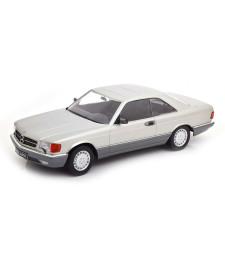 Mercedes 560 SEC C126 1985 Silver - Limited Edition 1000 pcs.