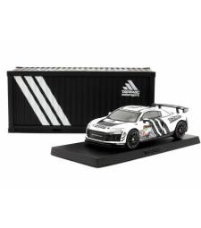 2018 Audi R8 Lms Gt4 Presentation Version 24H Dubai With Special Container, White/Black