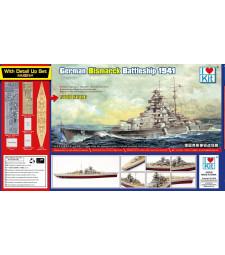 1:700 Германски крайцер Бисмарк