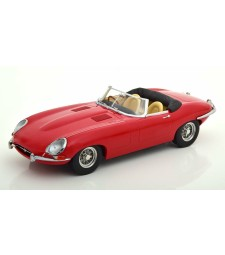 Jaguar E-Type Cabrio RHD Open Series 1 1961 Red, Limited Edition 500 pcs.