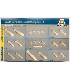 1:72 Втора световна война: германско въоръжение за самолети I (WWII: GERMAN AIRCRAFT WEAPONS I)
