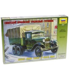 1:35 Съветски военен камион ГАЗ-AAA /GAZ-AAA SOVIET TRUCK/