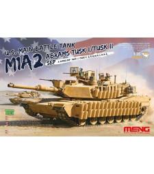 1:35 Американски основен танк  M1A2 SEP Abrams TUSK I/TUSK II (U.S. Main Battle Tank M1A2 SEP Abrams TUSK I/TUSK II)