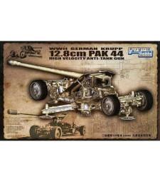 1:35 Германско противотанково оръдие WWIIGermanKrupp12.8cmPak44Anti-TankGun