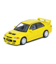 1995 Mitsubishi Lancer Evolution III, Yellow With Seperate Bonnet Carbon Decals And Extra Set