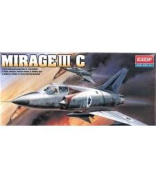 1:48 Френски свръхзвуков изтребител Мираж III С (MIRAGE III C)