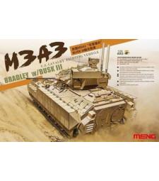 1:35 Американска военна машина М3А3 Брадли с БУСК III (U.S. Cavalry Fighting Vehicle M3A3 BRADLEY w/BUSK III)