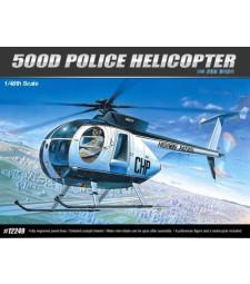 1:48 Полицейски хеликоптер HUGHES 500D POLICE