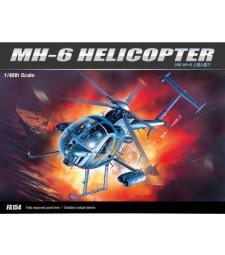 1:48 Американски стелт хеликоптер МХ-6 (MH-6 STEALTH HELICOPTER)