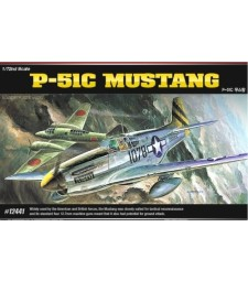1:72 Американски изтребител П-51Ц Мустанг (P-51C MUSTANG)