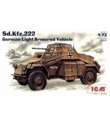 1:72 Германски лек брониран автомобил Sonderkraftfahrzeug 222 (Sonderkraftfahrzeug 222, German Light Armoured Vehicle)