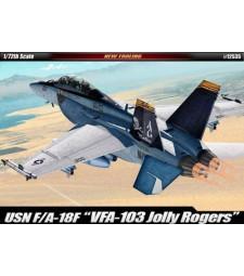 """1:72 Американски многоцелеви изтребител F/A-18F USN """"VF-103 JOLLY ROGERS"""""""