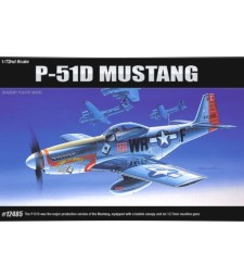1:72 Американски изтребител П-51Д Мустанг (P-51 D MUSTANG)