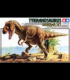 1:35 Тиранозавър, диорама (Tyrannosaurus Diorama)