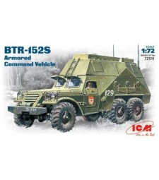 1:72 Брониран команден автомобил БТР-152С (BTR-152S, Armoured Command Vehicle)