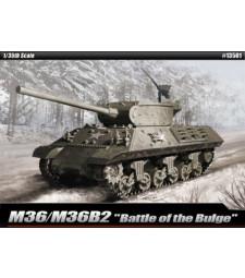 """1:35 Американски танк М36Б2, Арденска офанзива (M36B2 US ARMY """"BATTLE OF THE BULGE"""")"""