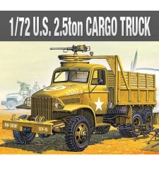 1:72 Американски военен камион 2,5 тона и аксесоари (US 2,5 TON TRUCK & ACCESSOIRES)