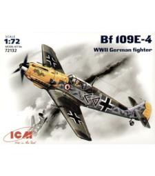 1:72 Германски изтребител Месершмит Бф 109-Е-4 (Messerschmitt Bf 109E-4, WWII German Fighter)