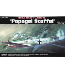 """1:72 Германски изтребител FW-190D """"PAPAGEI STAFFEL"""" OOP"""
