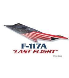 """1:48 Американски щурмови самолет Ф-117А """"Последен полет"""" (F-117A """"LAST FLIGHT"""")"""