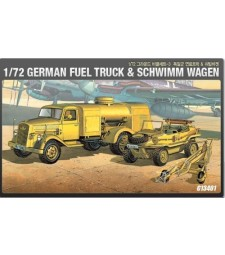 1:72 Германски военни камиони EDW TANKWAGEN & SCHWIMMWAGEN
