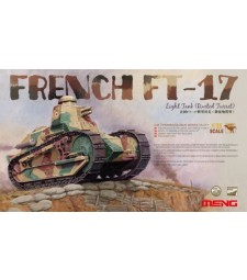 1:35 Френски лек танк ФТ-17 (FRENCH FT-17 LIGHT TANK, RIVETED TURRET)