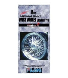 1:24 TW-53 17inch Normal Whire Wheel (Silver)