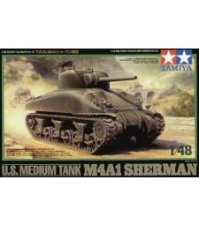 1:48 U.S. Medium Tank M4A1 Sherman