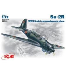 1:72 Съветски разузнавателен самолет Су-2Р (Su-2R, WWII Soviet Reconnaissance Plane)