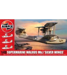 1:48 Британски амфибиен самолет Supermarine Walrus Mk.1 'Silver Wings'