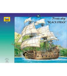 """1:72 Пиратски ветроходен кораб  """"Черния лебед"""""""