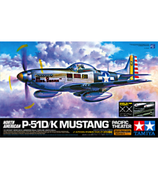 1:32 North American P-51D/K Mustang - Pacific Theater - 1 figure