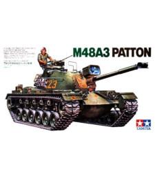 1:35 Американски танк M48A3 Патън CQ220 (U.S. M48A3 Patton Tank - CQ220) - 1 фигура