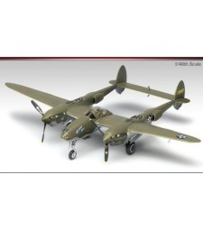 "1:48 Американски изтербител Локхийд П38Ф LIGHTNING ""GLACIER GIRL"" (P-38F LIGHTNING ""GLACIER GIRL"")"