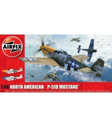 1:48 North American P51-D Mustang (Filletless Tails)