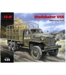1:35 Военен камион Studebaker US6, WWII Army Truck