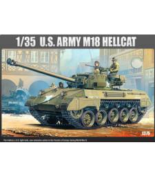1:35 Американски танков разрушител М-18 Хелкат (M-18 HELLCAT)