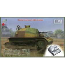 1:35 Танкета TKS с картечница (версия с quick tracks)