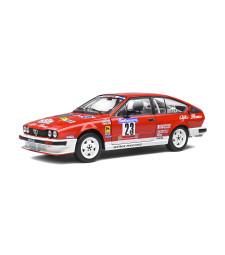 ALFA ROMEO GTV6 - TOUR DE CORSE 1985 - Y.LOUBET/J-B.VIEU