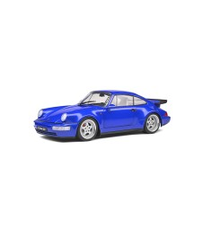PORSCHE 911 (964) TURBO 3.6 – ELECTRIC BLUE – 1990
