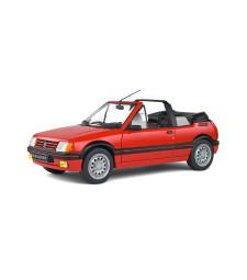 PEUGEOT 205 GTI MK1 CABRIOLET - ROUGE VALLELUNGA - 1989