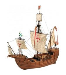 """1:65 """"Света Мария"""" - Модел на кораб от дърво"""