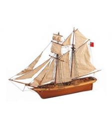 """1:50 """"Шотландката"""" - Модел на кораб от дърво"""