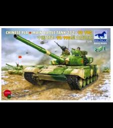 1:35 Китайски PLA Основен танк ZTZ- 99 / 99G