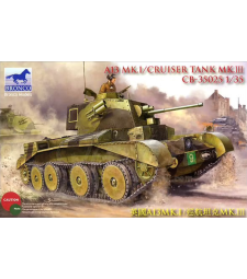1:35 Британски танк A13 Mk.I /Cruiser Tank Mk. III