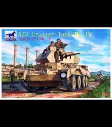 1:35 Британски танк  A13 Mk.II  Cruiser Tank Mk. IV