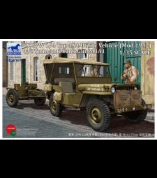 1:35 US GPW 1/4 тона 4x4 камион (мод. 1942) с 37 мм противотанково оръдие M3A1